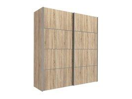 Tvilum Veto kledingkast 2-deurs B 182 cm, eiken decor.