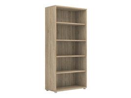 Tvilum Prisme kast 4 planken eiken decor.