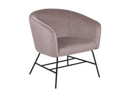 Ramy fauteuil dusty rose.