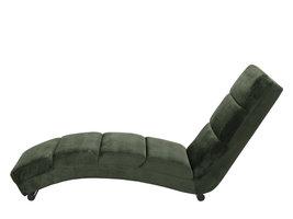 Sanne chaise longue/ligstoel, bosgroen.