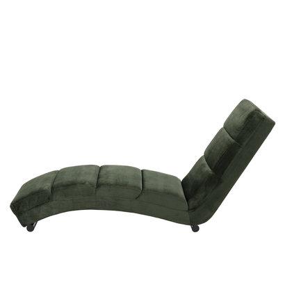FYN Sanne chaise longue/ligstoel, bosgroen.