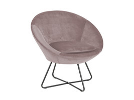 Cense fauteuil dusty rose.