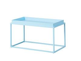 Hioshop Cross salontafel L hoektafel lichtblauw.