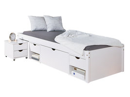 Timm bed 90x200 cm wit.