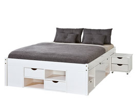 Timm bed 160x200 cm wit.