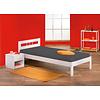 Fank bed 90x200 cm wit.