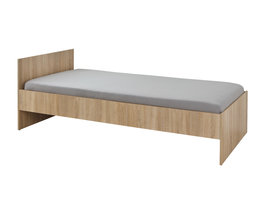 Lintru bed 90x200 cm Sonoma eiken decor.