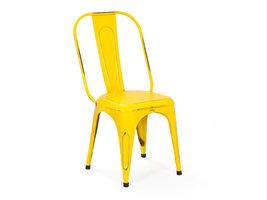 Hioshop Aimes eetkamerstoel geel.