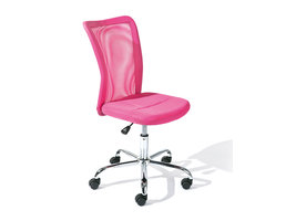 Hioshop Bonan kinder bureaustoel roze.
