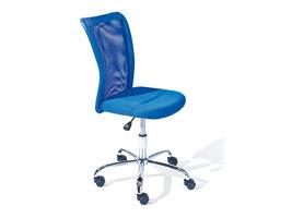 Hioshop Bonan kinder bureaustoel blauw.