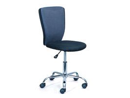 Hioshop Cece kantoorstoel grijs, zwart.