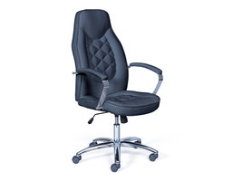Hioshop Tanirs kantoorstoel zwart.