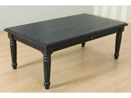 Amaretta salontafel met 2 lades, zwart .