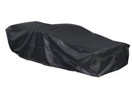Hioshop Redie tuintoebehor overtrek, ligstoel 210x88x52 cm grijs.
