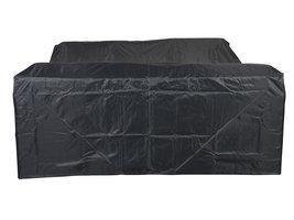 Hioshop Pake tuintoebehor overtrek, tuinset 220x195x76 cm grijs.