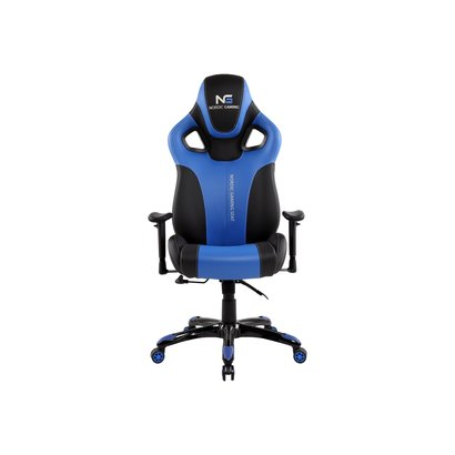 Hioshop Nordic Gaming Performance gamestoel zwart en blauw.