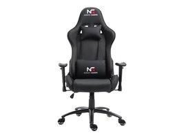 Nordic Gaming Racer gamestoel zwart.