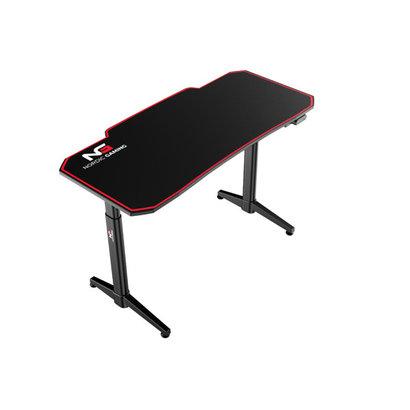 Hioshop Nordic Gaming Elevate gamer tafel zwart.