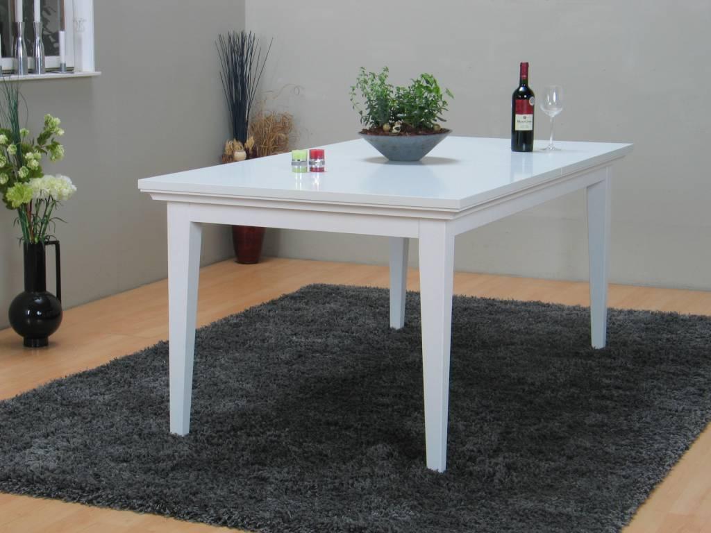 Eetkamertafel Vierkant Wit : Tvilum tafel venetië eetkamertafel wit cm