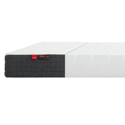 Flexa Basic Hit schuimmatras 90x190 cm voor extra bed, wit, grijs.