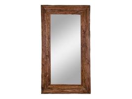 Grimp spiegel teakhout.