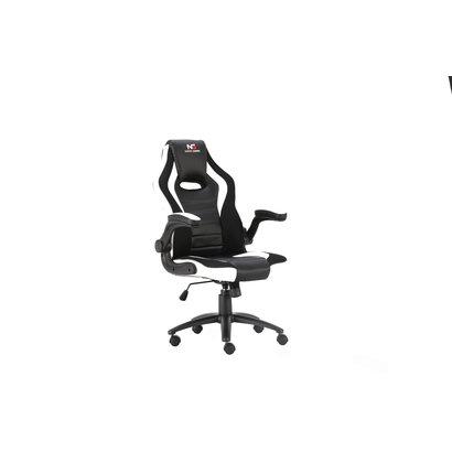 Nordic Gaming Charger V2 gamestoel zwart, wit.