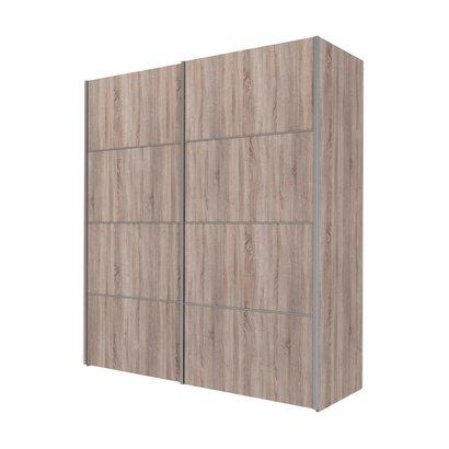 Veto kledingkast A 2 deurs H201 cm x B182 cm truffelkleurig.