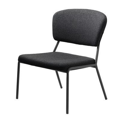 Brass fauteuil grijs.