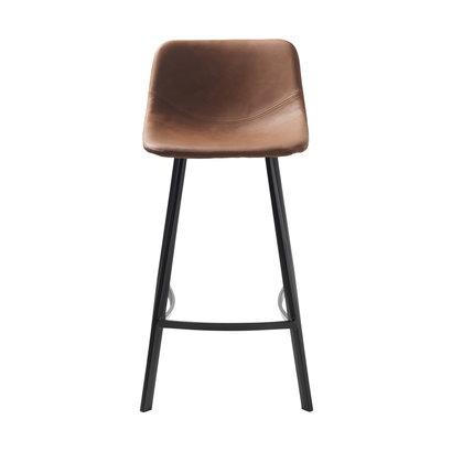 YUKON barstoel counterstoel, bruin.