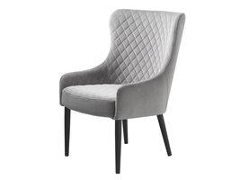Otis fauteuil grijs velours.