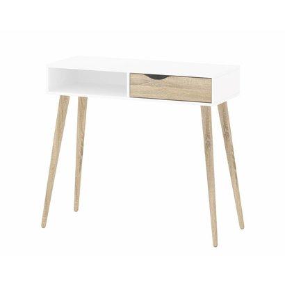 Side Table Met Lade.Tvilum Sidetable Bureau Napoli Met Lade
