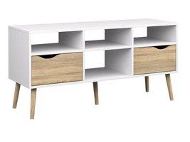 TV-meubel Napoli met 2 lades en 4 open vakken