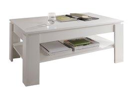 Aboma salontafel met 1 plank wit.
