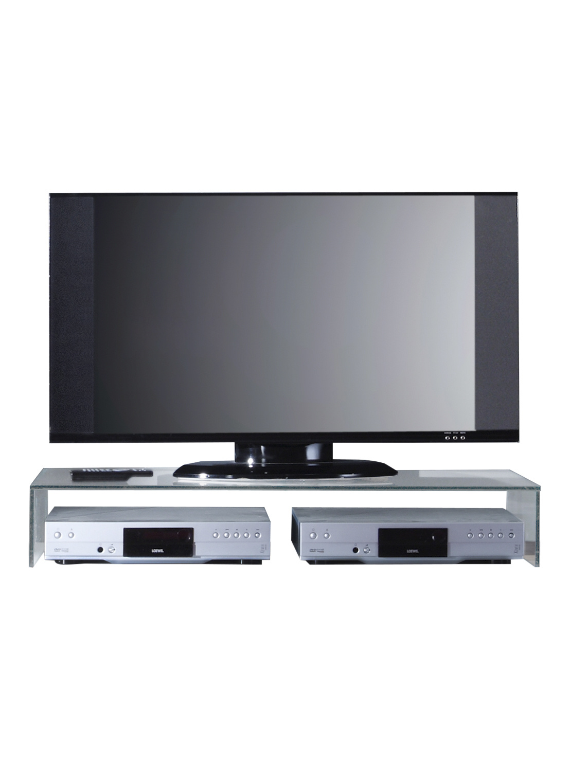 Tv Meubel Plank.Uni Tv Meubel Accessoires Glazen Plank