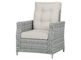 Vinor fauteuil tuinmodel 2, incl. kussen, met pomp, zand en zand.