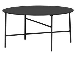 Penny tuintafel Ø 70 cm. H 35 cm, zwart.
