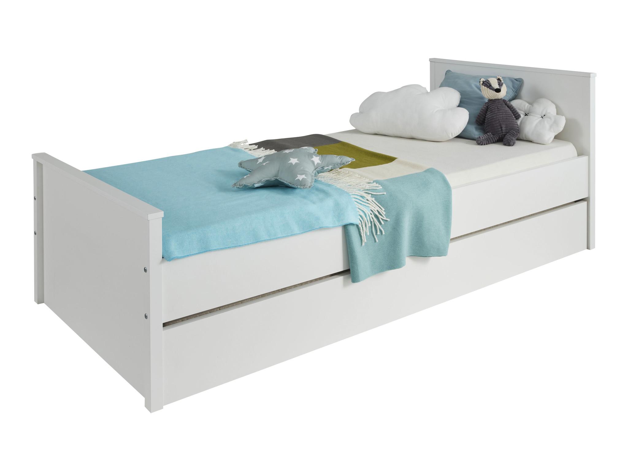 Betere Ory bed accessoire, opberglade met wielen voor onder bed, wit. IH-21