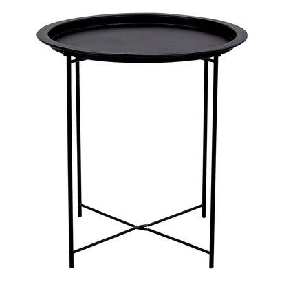 Baro salontafel hoektafel zwart.