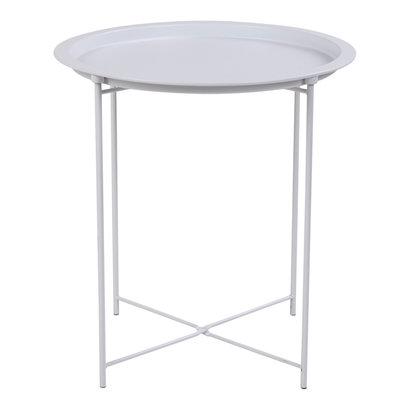 Baro salontafel hoektafel wit.