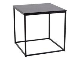 Viggo salontafel hoektafel zwart.