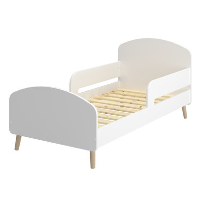 Gry kinderbed junior bed 70x140cm wit.