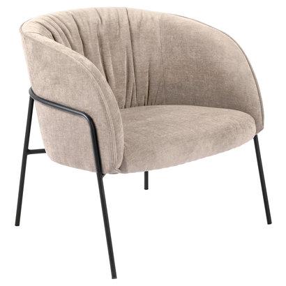 Scube fauteuil bruin.