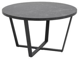 Amst salontafel marmer print zwart.