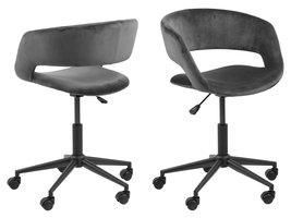 Gramma kantoorstoel grijs.