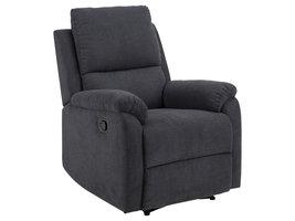 Sabel fauteuil relaxfauteuil grijs.