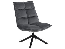 Stump fauteuil grijs.