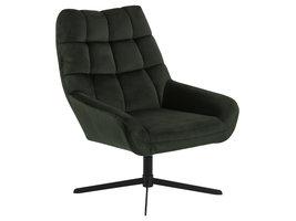 Pralar fauteuil groen.