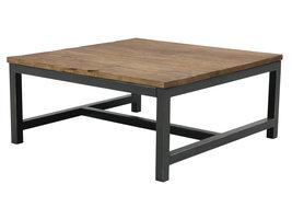 Violet salontafel 90x90 cm iepen.