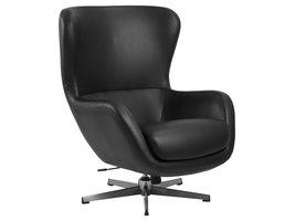 Prito fauteuil zwart.
