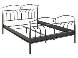 Linax bed metaal 140x200 cm, zwart.